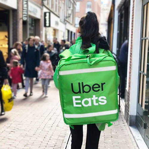 Flyeren Uber Eats